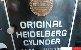 heidelberg sb cylinder for sale