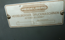 HEIDELBERG TOK OFFSET