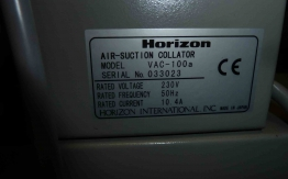HORIZON VAC-100 COLLATOR