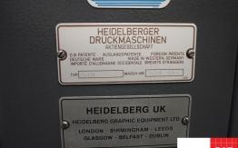 heidelberg gto 46 np single colour