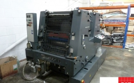 used heidelberg offset - gto 52 z two colours