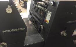 HEIDELBERG GTO 52-2 TWO COLOUR OFFSET