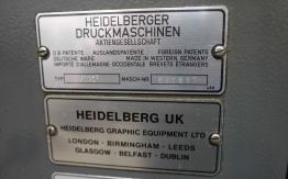 HEIDELBERG GTO ZP 46 TWO COLOUR OFFSET