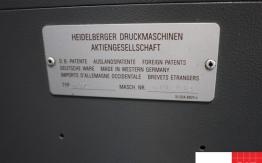 heidelberg moz two colour offset