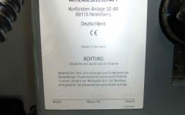 HEIDELBERG GTO 52 ONE COLOUR OFFSET