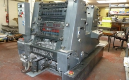 HEIDELBERG GTO 52-2 TWO COLOURS