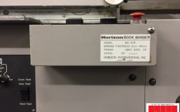 Horizon BQ 220 Perfect Binder