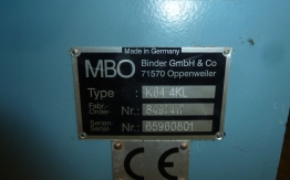 MBO K-64 4KTL FOLDING MACHINE