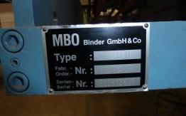 MBO PAPER FOLDER K 67 4 KTL