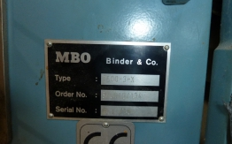 MBO T-500-4-4-X PAPER FOLDING MACHINE