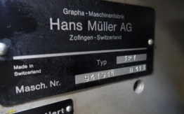 MULLER MARTINI TYPE 321 TWIN HEAD STITCHER