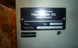 MULLER MARTINI SADDLE STITCHER 321 4+1