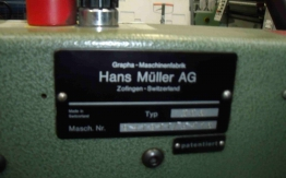 1989 MULLER MARTINI TYPE 306 TWIN FEEDER