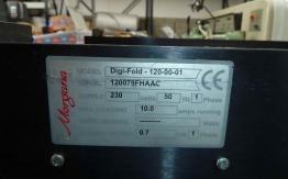 MORGANA DIGIFOLD (CREASING / FOLDING MACHINE)