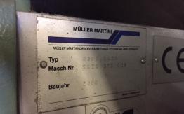 MULLER MARTINI BRAVO S SADDLE STITCHER