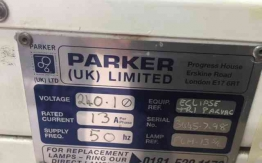 PARKER ECLIPSE PLATE MAKER