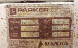 PARKER B2 PRINT DOWN FRAME