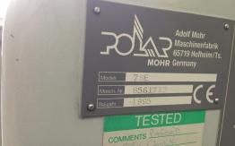 POLAR 78 ES GUILLOTINE