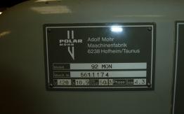 POLAR 92 EM-MON GUILLOTINE