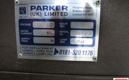 Parker PL1 Plate Exposure Unit