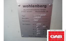 wohlenberg city 500 single clamp perfect binder