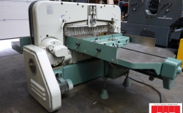 polar 115 ce used paper guillotine