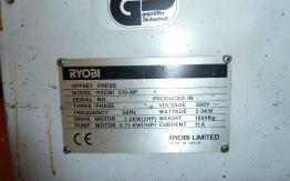 RYOBI 510 NP ONE COLOUR OFFSET