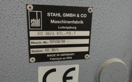 STAHL KD 66 4 KTL PAPER FOLDER