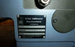 STAHL KC78 4KTL PAPER FOLDING MACHINE