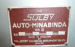 SULBY MKII PERFECT BINDER