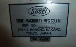 SHOEI STAR SPK 74 4KTL PAPER FOLDING MACHINE