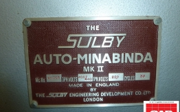sulby auto minibinda mkII perfect binder