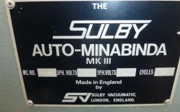 SULBY MK III SINGLE CLAMP PERFECT BINDER
