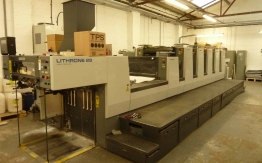 USED KOMORI OFFSET NL528+LX