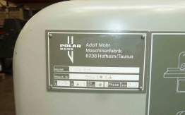 USED POLAR GUILLOTINE 76 EM