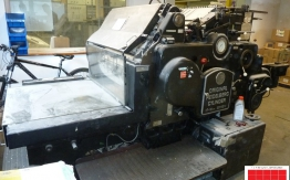 Heidelberg SBB Cylinder die-cutter