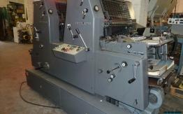 HEIDELBERG GTO 52-ZP TWO COLOUR OFFSET
