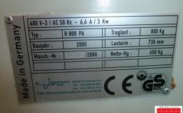 MANFRED RACHNER B2 PILE TURNER