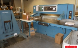 Used wohlenberg 115 mcs-2tv paper cutter