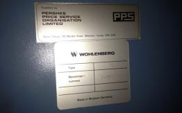 WHOLENBERG 76 SPM GUILLOTINE