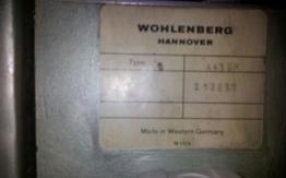 WOHLENBERG A 43 DM THREE KNIFE TRIMMER