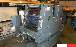 heidelberg gto 52 zp two colour offset with perfecting