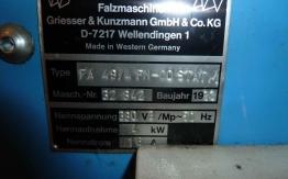 GUK FA 49 4-2 PAPER FOLDING MACHINE