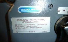 HEIDELBERG GTO52 ZP TWO COLOUR OFFSET
