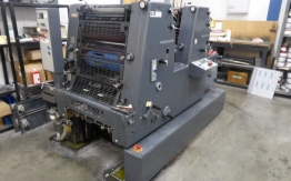 HEIDELBERG GTOZP 52 TWO COLOUR OFFSET