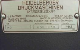 HEIDELBERG MO-E OFFSET