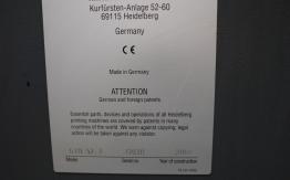 HEIDELBERG GTO 52-2 TWO COLOUR PRINTMASTER