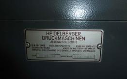HEIDELBERG SM 72-SP SIX COLOUR OFFSET