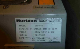 HORIZON BQ 440 PERFECT NINDER