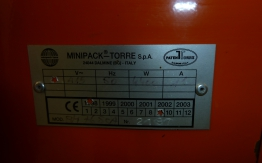 Minipack Torre Shrink Wrapping Machine